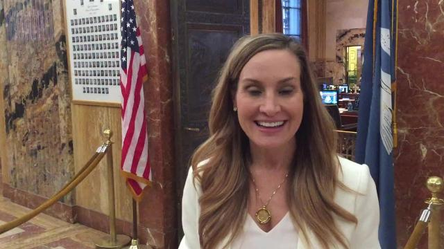 Rep. Paula Davis discusses her first-time home buyer rebate bill