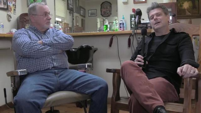 Grammy-winning Cajun musician Steve Riley interviews his uncle, Mark Henry, a traditional barber in Morse, LA.