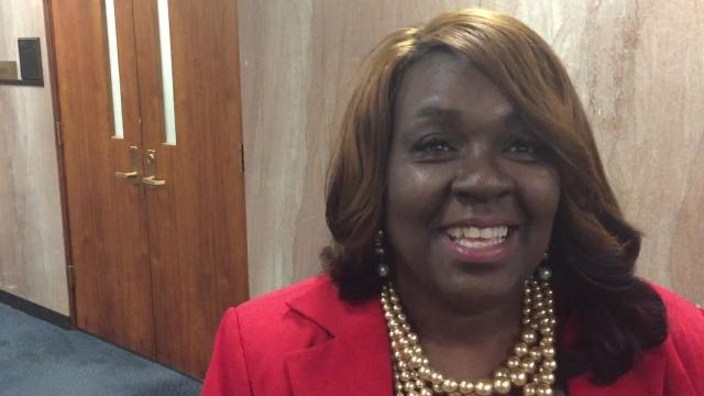 """Senate Bill 224 by Sen. Regina Barrow, D-Baton, would require public schools to display the national motto """"In God We Trust"""" and incorporate its origin into the curriculum."""