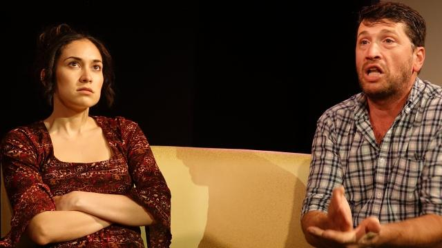 Michelle Colón and David Vallot of the Lauren Reilly Eliot Theatre Company make career choices for a life on stage.