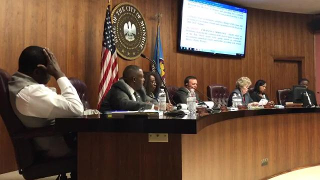 Following a lengthy discussion regarding the need for backup generators at the city's pump stations, Councilman Kenneth Wilson and Mayor Jamie Mayo exchanged words about the proposed arena.