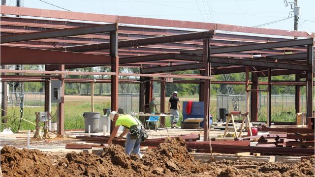 A $12 million bond issue passed by the Mangham community has led to several facility projects.