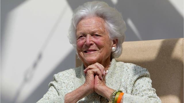 "Jenna Bush Hager described her grandmother, Barbara Bush, as ""a fighter"" who is ""in great spirits,"" following an announcement from the family this weekend that the 92-year-old former first lady is in ""failing health"" and won't seek additional medical treatment."