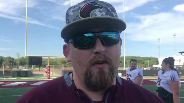 New special teams coordinator/tight ends coach Kyle Segler came to ULM after eight years at Sam Houston State, his alma mater.