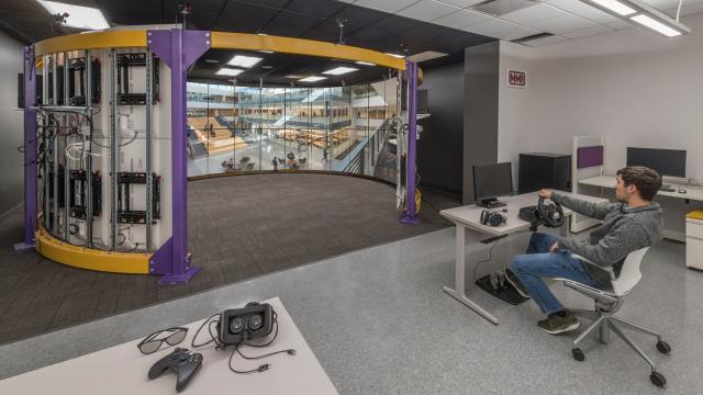 Check out the new Patrick F. Taylor Hall for the LSU College of Engineering. The college celebrated the facility's grand opening Friday with tours and student demonstrations. Photos by the LSU College of Engineering