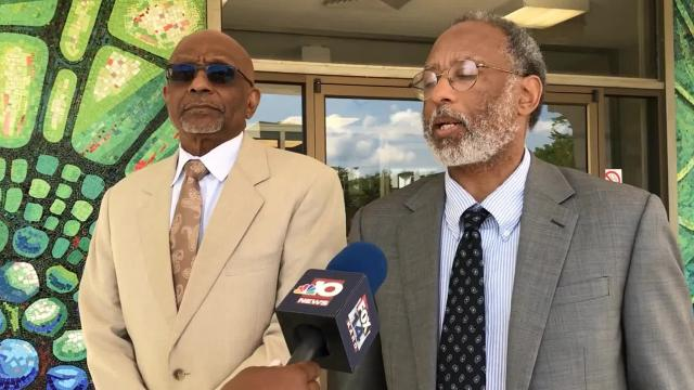Attorney Louis G. Scott discusses what former Civic Center Director Charles Thomas wants from the city as he files an additional appeal to return to his job.