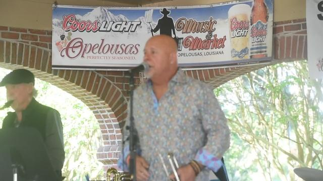 Gregg Martinez and the Delta Kings entertain at Music and Market