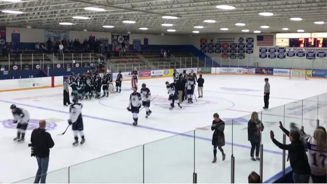 The Shreveport Mudbugs defeated the Wilkes-Barre/Scranton Knights, 2-1, in Game 2 of an NAHL Robertson Cup semifinal on Saturday.