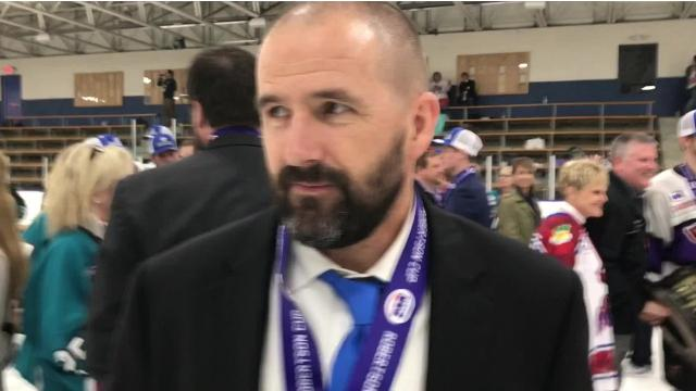 The Shreveport Mudbugs captured the NAHL championship Monday. Assistant coach Jason Campbell won a championship as a Mudbugs player and now as a coach.