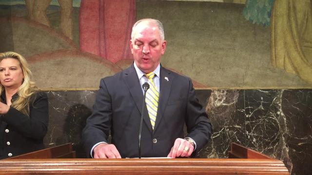 Gov. John Bel Edwards has called for a Special Session beginning May 22 to address the state's budget crisis.