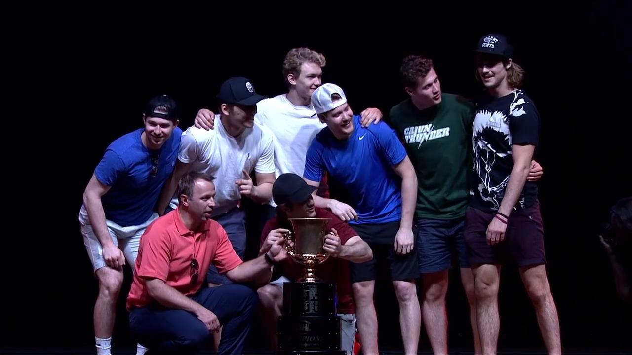 Shreveport Mudbugs hockey team recognized at Sports Awards