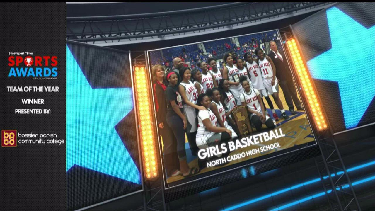 North Caddo's girls basketball team was recognized as The Shreveport Times Sports Awards team of the year.