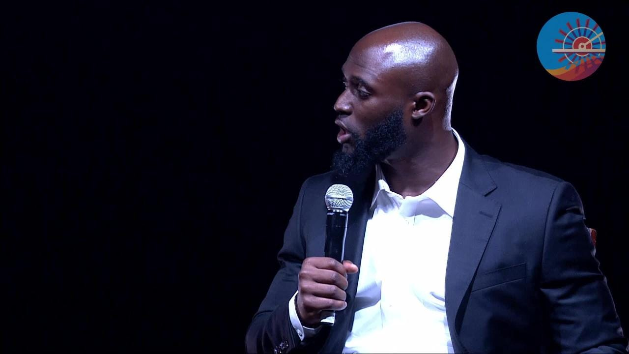 Former LSU player and current Jacksonville Jaguars' running back Leonard Fournette joined Roy Lang on the Sports Awards stage in Shreveport to honor the area's best prep athletes.