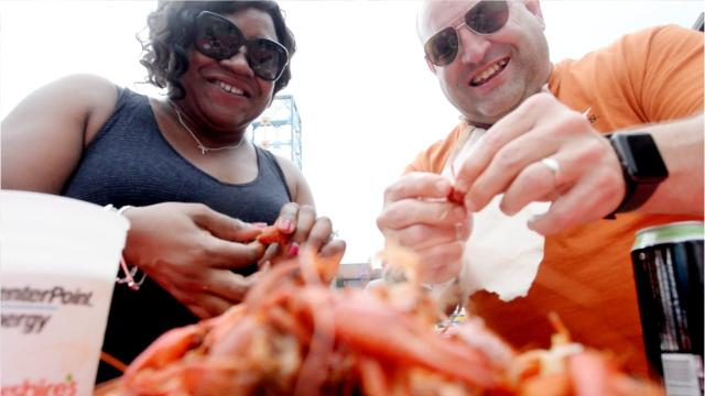 The  annual crawfish festival returns May 24-27.