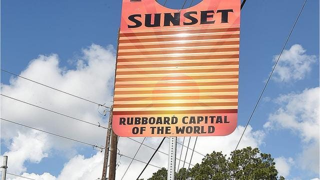 zydeco rubboard unveiled in Sunsewt