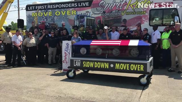 Spirit Ride rolls into West Monroe to bring awareness to the Move Over law.