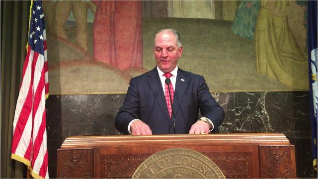 Gov. John Bel Edwards said the Special Session that ended at midnight Monday was a disaster.