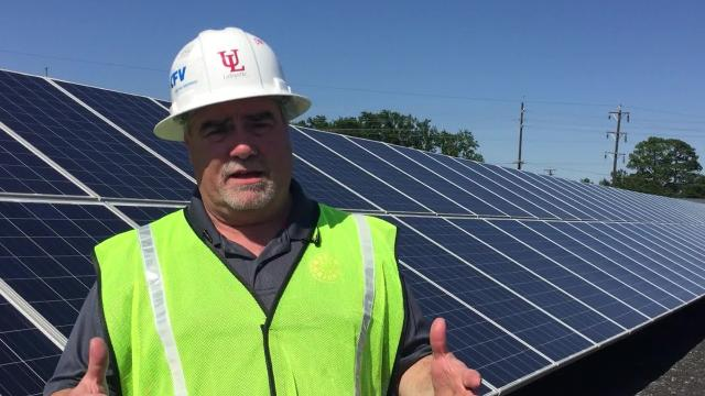 A solar research facility at UL Lafayette should be completely operational by the end of June. It is expected to provide energy for the university's athletics complex and serve as a research and teaching facility.