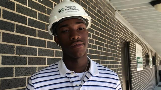 Frederick Threats will be a senior in the fall, and he said he's considering a career in technology after a camp that introduced him to robotics.