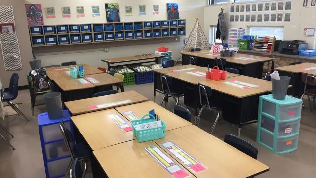 After being closed for two years for flood repairs, Westside Elementary in Scott is prepared to open for the new school year.