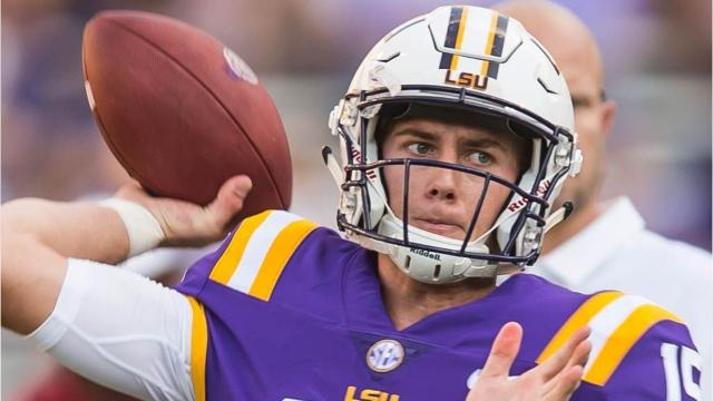 UL tight end Chase Rogers, who is injured and out this season, and LSU quarterback Myles Brennan, who is in a battle to start this year, were high school teammates, as Rogers discussed back in the spring.