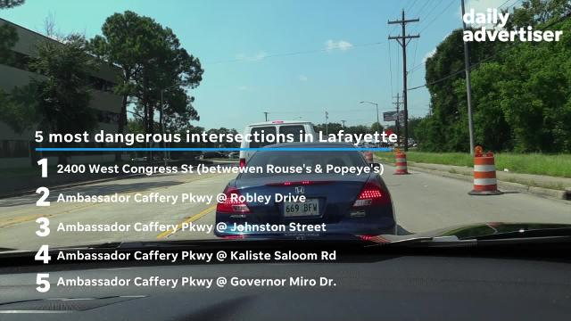 More than 42% of the crashes in Lafayette, LA, are caused by distracted drivers. And, Louisiana drivers pay $600 more, per year, on insurance than the average driver in the US.