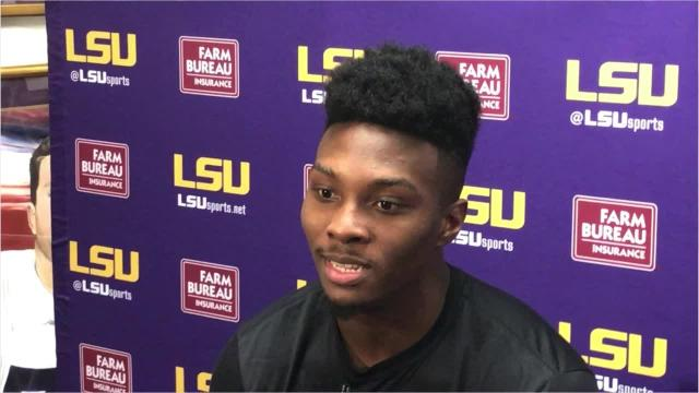 Receiver Jonathan Giles is a LSU rarity - he knows passing games
