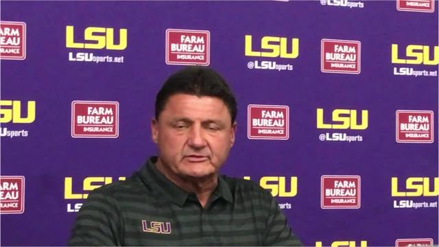 Ed Orgeron wishes exiting quarterbacks his best