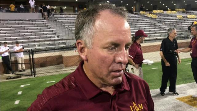 ULM beat Southern Miss 21-20 on Saturday night in Hattiesburg.