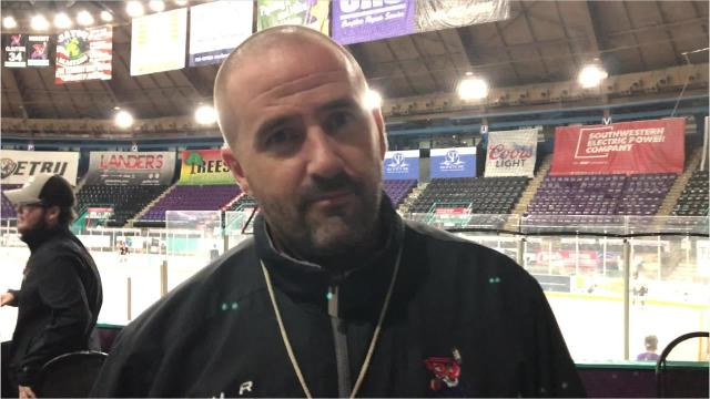 Video: Mudbugs head coach not pleased with team's effort at Monday's practice
