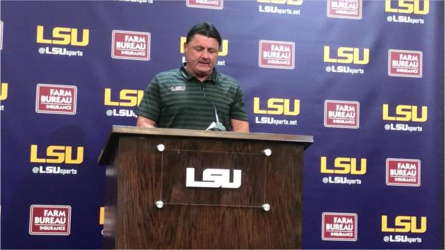 Ed Orgeron learned about his team at Auburn