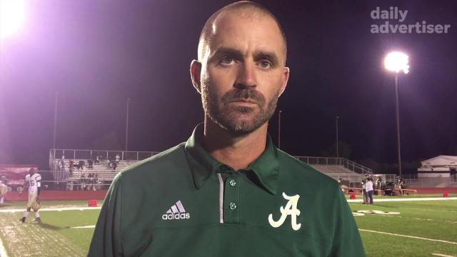 Acadiana coach talks after winning district opener