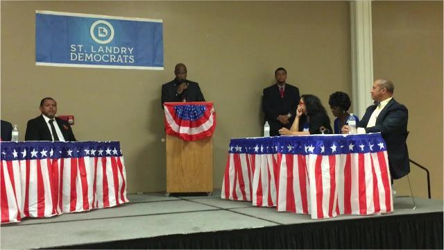political forum in opelousas