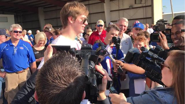 Mason William Andrews, 18, is home in Monroe, Louisiana, after successfully circumnavigating the globe — alone —in 76 days. He's the youngest pilot to make the trip. He's also the youngest pilot to cross the Atlantic and Pacific oceans alone.