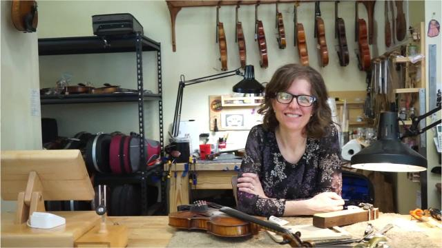 Grammy-nominated musician Anya Burgess,  owner of Sola Violins in Lafayette, La., talks about her panel discussion at the Music Cities Convention.