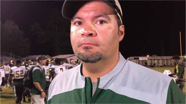 Captain Shreve head coach Bryant Sepulvado was not pleased with his team's effort, particularly early, in a 42-35 loss at Haughton. Sepulvado believes Haughton's gaudy numbers, a late 21-point lead were a product of several mistakes by the Gators.