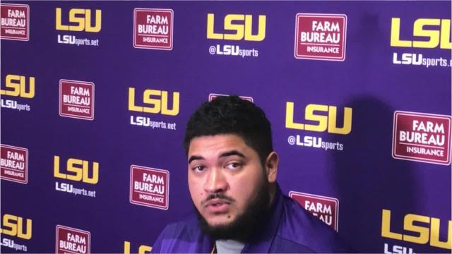 LSU players knew the rush was coming