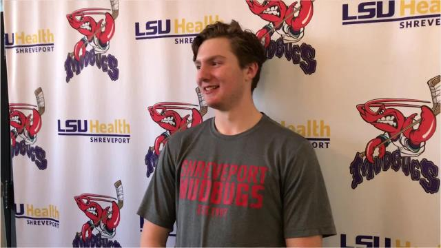 Maiszon Balboa got the start between the pipes and the victory for the Shreveport Mudbugs on Friday night. The game on George's Pond at Hirsch Coliseum provided an atmosphere completely different than Balboa's first start of the season.