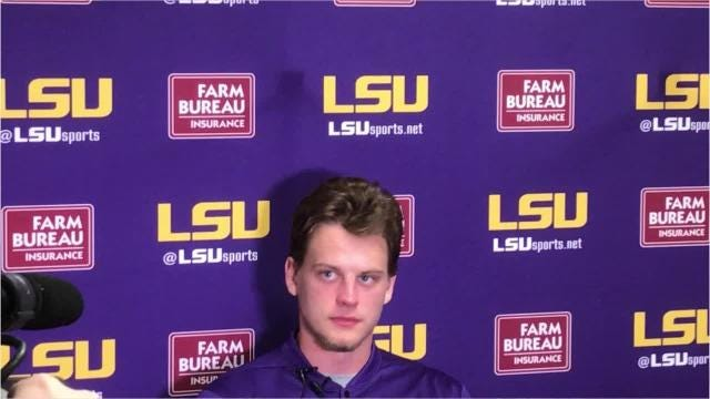"Joe Burrow: ""We're effective doing both."""