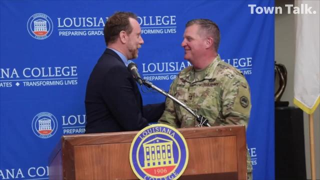 Louisiana College announced that it will match scholarships available to members of the U.S. military and the reserves.