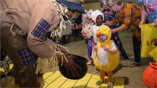 LSUA's annual Trick-or-Treat Street fun for faculty, staff, students and children who attended event.