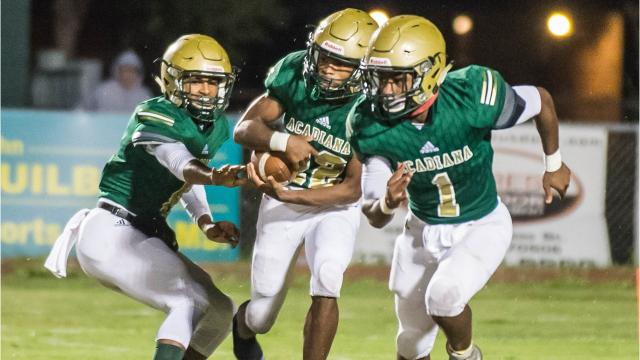 The Acadiana Wreckin' Rams started off their road to the Dome against a familiar opponent in Live Oak who they faced in the playoffs last season. The Rams won again this season in what was a physical football game in which the teams had to deal with the wind and muddy field conditions.