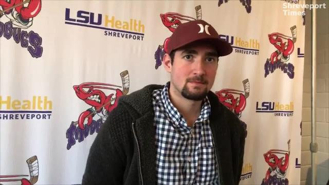 The Shreveport Mudbugs dropped a pair of games at Lone Star last weekend despite  a solid effort from goaltender Leo Chuard, who can fool some folks with his age.