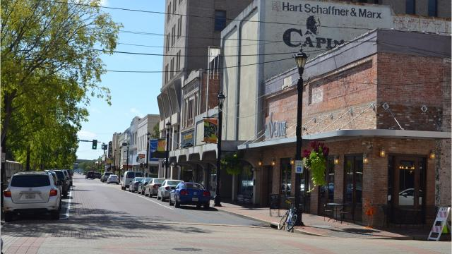 Downtown Alexandria is experiencing a resurgence