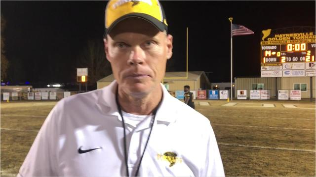 Haynesville blew a 14-0 lead Friday night and fell to Kentwood, 20-14 in a Class A semifinal. Head coach David Franklin fell victim to a player he was told would be unavailable Friday.