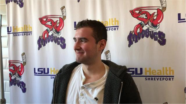 Shreveport Mudbugs netminder Leo Chuard leads the league in shootout victories, but he isn't a fan of cheese in America.