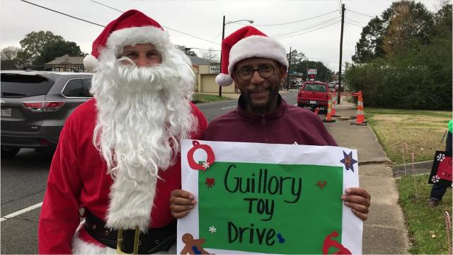 28th annual Guillory Family Toy Drive held Saturday at the law office of Elbert Guilory.
