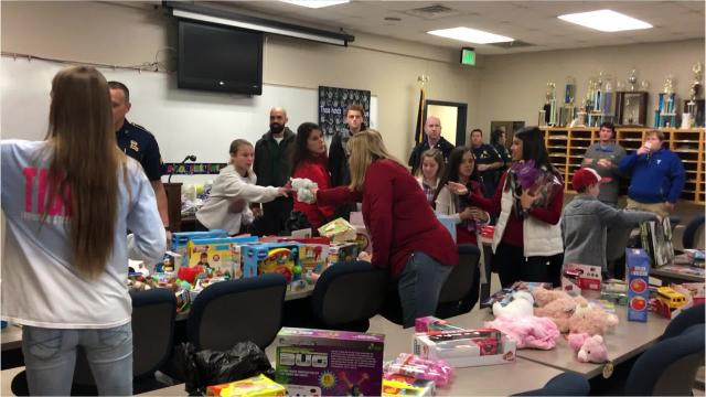 Louisiana State Police Troop E troopers and family members delivered Christmas gifts Monday (Dec. 24, 2018) to children hospitalized throughout the 10-parish region.