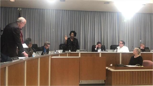 Linda McMahon was selected Tuesday evening (Jan. 8, 2019) to fill the vacant District F seat on the Rapides Parish School Board until a special election can be held in March.