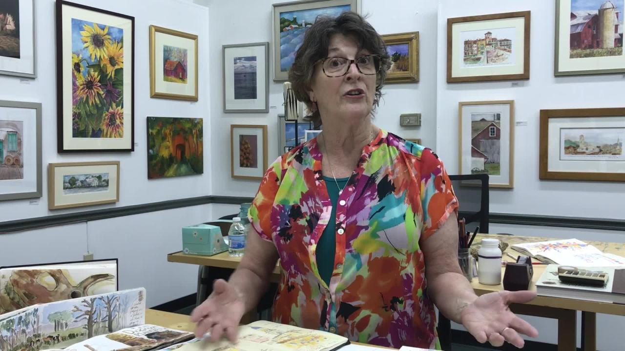 WATCH: Rosemary Connelly speaks about learning to draw and sketch